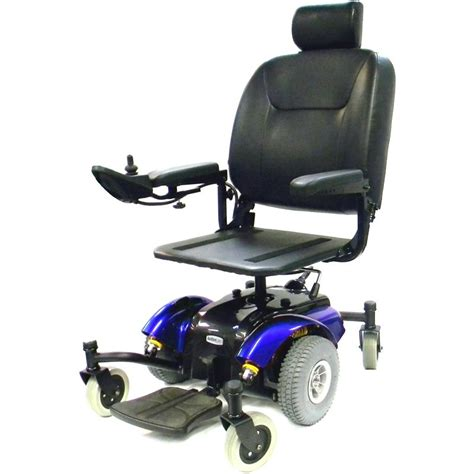 intrepid mid wheel power wheelchair with pan seat drive