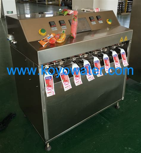 mini small bag juice tube filling machineplastic packing strips making machineice bar filling