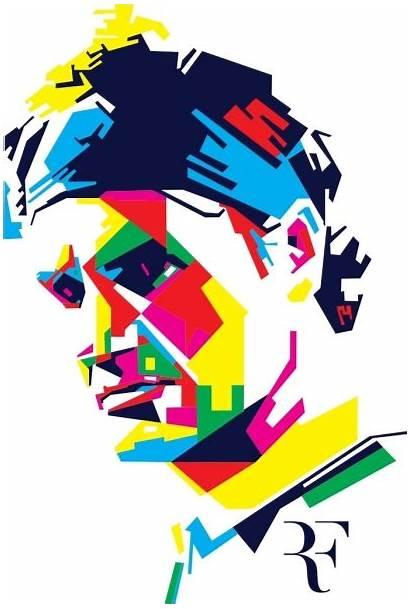 Federer Vector Roger Graphic Commercial Svg Cdr