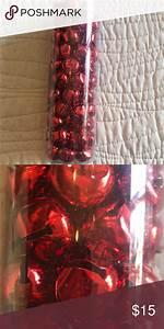 Red, Jingle, Bell, Vase, Filler, Christmas, Holiday