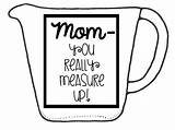 Measuring Cup Printable Template Templates sketch template