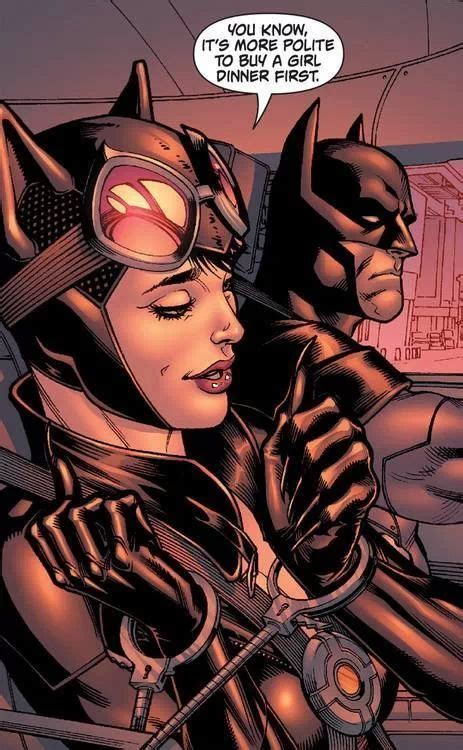 Cat And Bat That Type Of Relationship Dc Movies And Tv