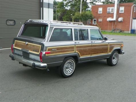 classic jeep wagoneer for sale 1988 jeep grand wagoneer used 5 9l v8 16v 4wd suv vintage