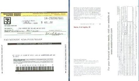 Western Union Online Receipt
