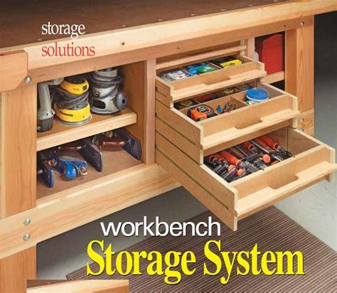 Workbench Storage System  Woodsmith Shop Tools, Jigs