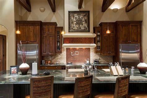 modern backsplashes for kitchens 20 copper backsplash ideas that add glitter and glam to 7579