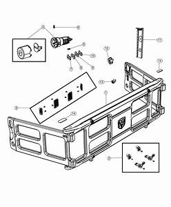 2019 Ram 1500 Divider Kit  Panel  Cargo Bed  Pickup Box
