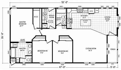 Wide Double Floor Mobile Homes Madera Plan
