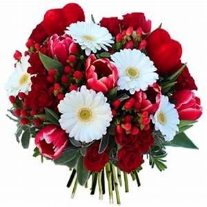 Offrir Un Bouquet De Fleurs : la saint valentin pourquoi offrir des fleurs le 14 f vrier le blog fleursinfo ~ Melissatoandfro.com Idées de Décoration