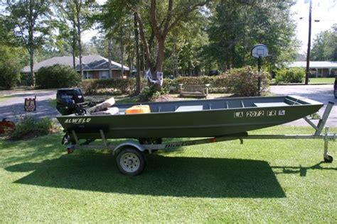 Aluminum Boats In Louisiana For Sale by 2007 Alweld Aluminum Flat Jon Boat For Sale In Louisiana