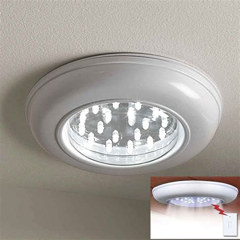 led wireless cordless ceiling wall light with remote