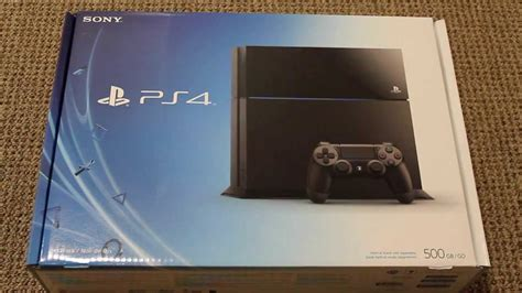 Brand New Playstation 4 Ps4 Unboxing And Review Youtube