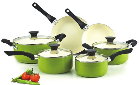 ceramic cookware cook nonstick sets