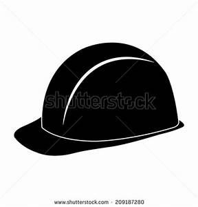 5 Hard Hat Icon Vector Images - Hard Hat Clip Art Black ...