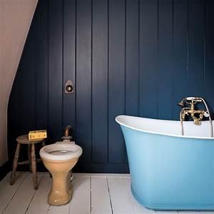 10 idees deco pour une nouvelle salle de bains marie claire With salle de bain mur bleu