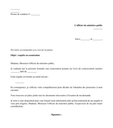 lettere pv mod 232 le de lettre contestation d une amende courrier type
