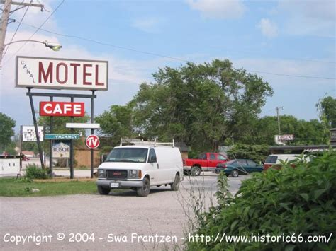 the road historic route 66 canal motel