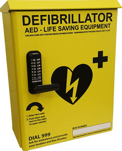 Defibrillator Cabinet by About Us Turtle Engineering