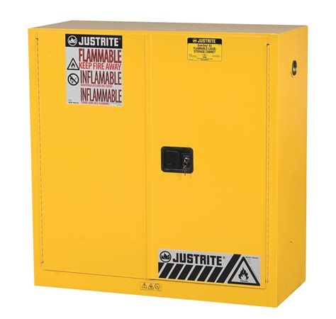 justrite flammable cabinet singapore justrite 30 gal yellow cabinet sure grip ex with paddle