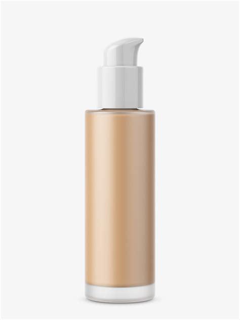 Opened paper tube front mockup 28422 tif. Face primer mockup - Smarty Mockups