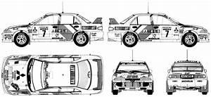 Mitsubishi Lancer Evo Iii Group A  1995