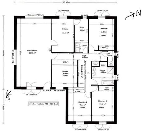 cuisine plan de maison moderne gratuit mc immo plan maison moderne gratuit plain pied plan
