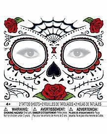 Halloween Tattoos amp Body Jewelry  Spirithalloweencom