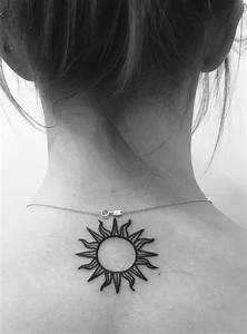 Los 40 Ms Lindos Tatuajes De Sol Para Mujeres Tatuajes