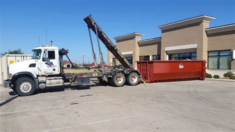 dumpster sizes  midland odessa west texas dumpsters