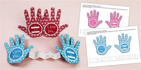 love    fold  paper hands craft paper