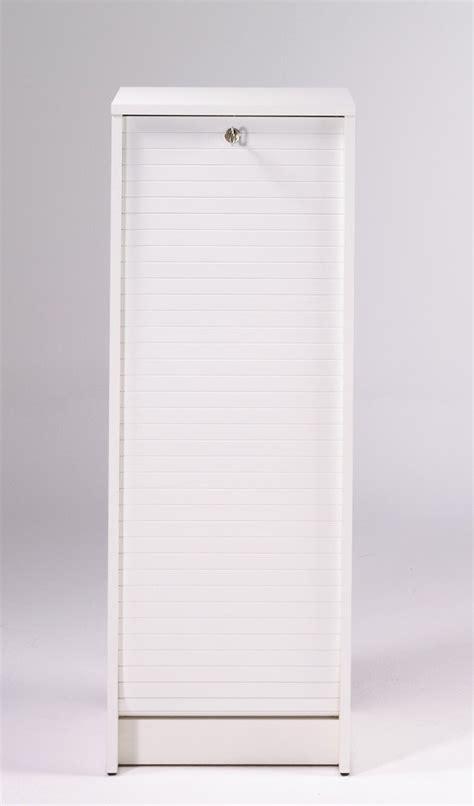 classeur a rideau blanc classeur 224 rideau design blanc booster meuble de rangement bureau