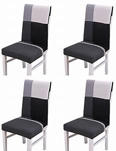 Housse De Chaise Pour Chaises De Salle Manger 4 Pices
