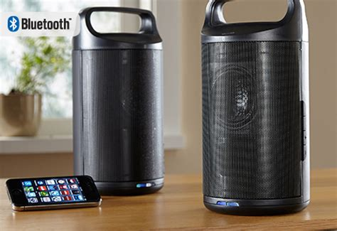 wireless indoor outdoor water resistant speakers set of 2