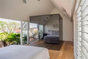 Modernes wohnen auf mehreren ebenen offene wohnraume for Markise balkon mit tapeten modernes wohnen