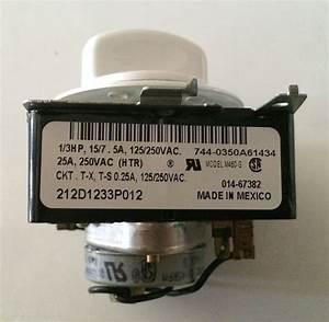 Ge Hotpoint Dryer Timer 212d1233p012