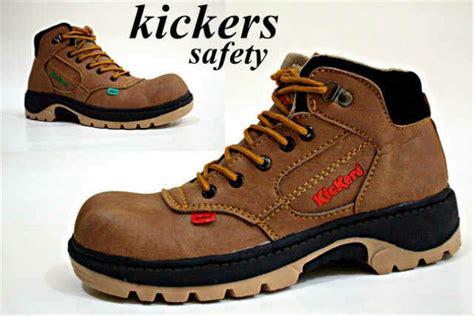 jual kickers safety shoes kuya paling murah sepatu kerja lapangan pria teknisi bikers