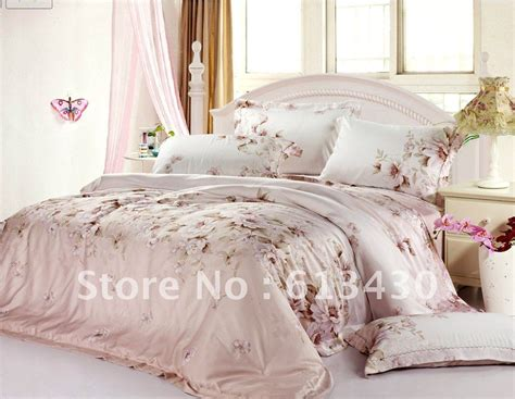 europe luxury tencel fabric bedding sets queen king size comforter sets flat sheet 1 5m 1 8m 2