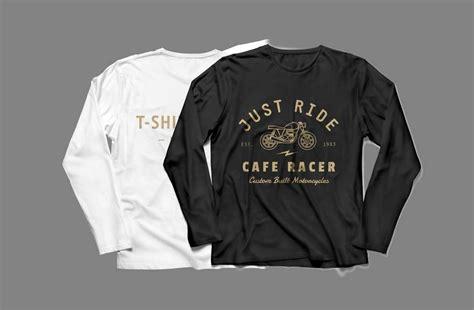 sleeve mock two t shirt sleeve shirt mockup mockupworld