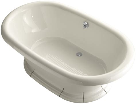 Kohler Freestanding Bathtub Faucet by Kohler K 700 47 Almond Vintage Collection 72 Quot Free