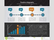 Simple Timeline Inforgraphic Design Stock Vector Image