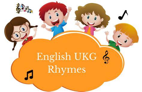 ukg rhymes with and lyrics ira parenting