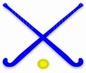 Hockey Sticks Blue Clip Art at Clker.com - vector clip art ...