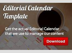How To Create An Editorial Calendar