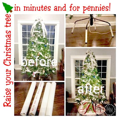 2014 christmas decor how to raise your tree the scrap