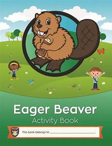 Activity Book For Eager Beaver