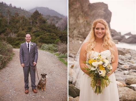 big sur wedding  limekiln state park  kira  tyler