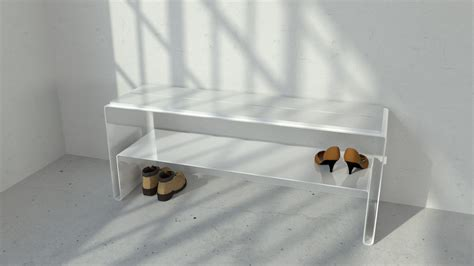 Entryway Shoe Bench ? Model #CPT63 ? Vintage Industrial