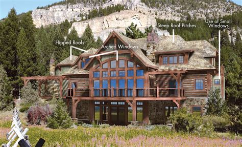 themed house architectrual styles log homes timber homes