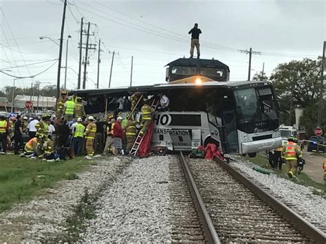 At Least Four Dead After Mississippi Train Crashes Into