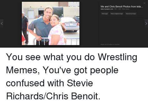 Chris Benoit Memes - funny meme wrestling and world wrestling entertainment memes of 2016 on sizzle